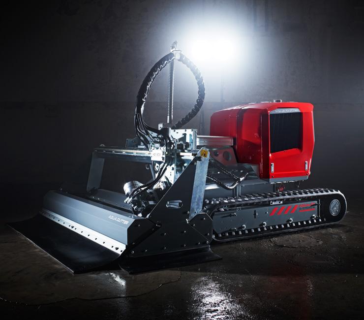 Aqua Cutter robots