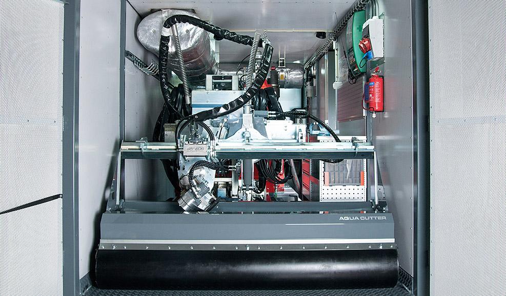 Robot inside Power Pack
