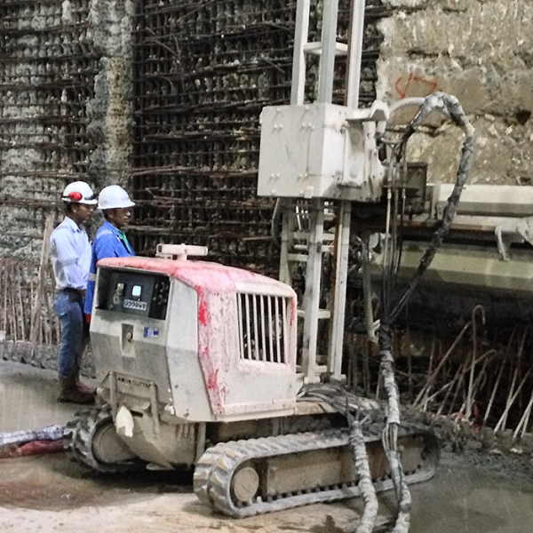 Jobreport Singapore MRT - Aqua cutter 710V