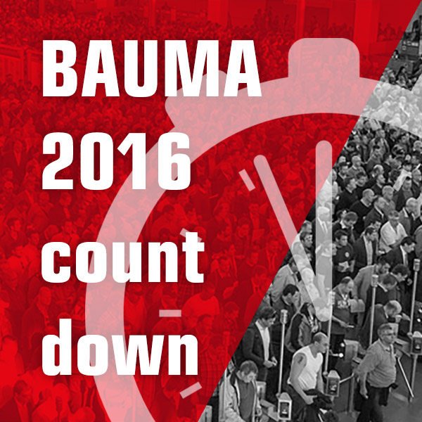 Bauma 2016 news