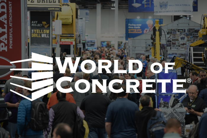 WOC World of Concrete Aquajet Brokk Aqua Cutters