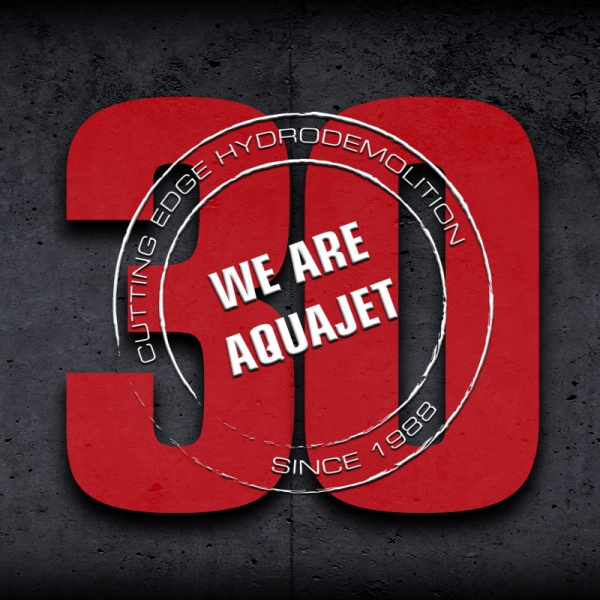 aquajet systems 30 years hydrodemolition 2018
