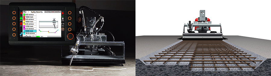 hydrodemolition aquajet systems turn points 3d zones aqua cutter