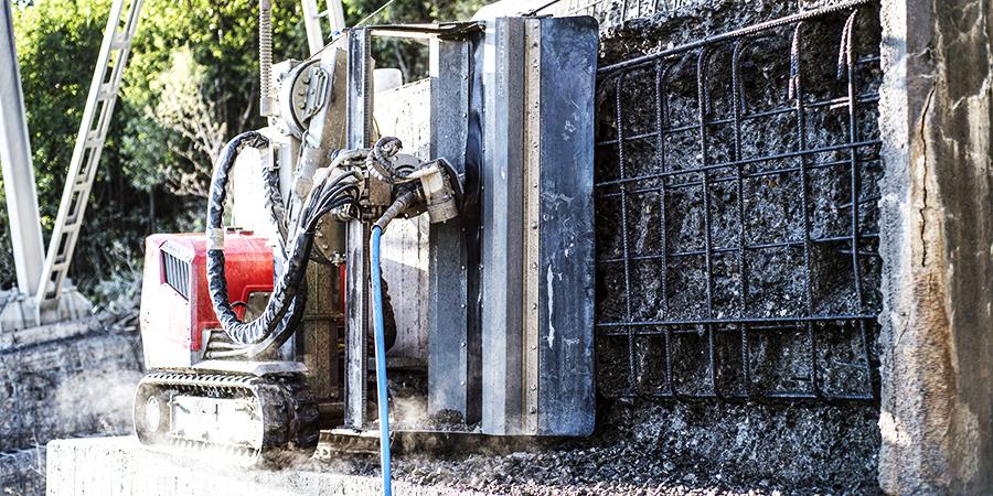 superior method hydrodemolition aquajet systems