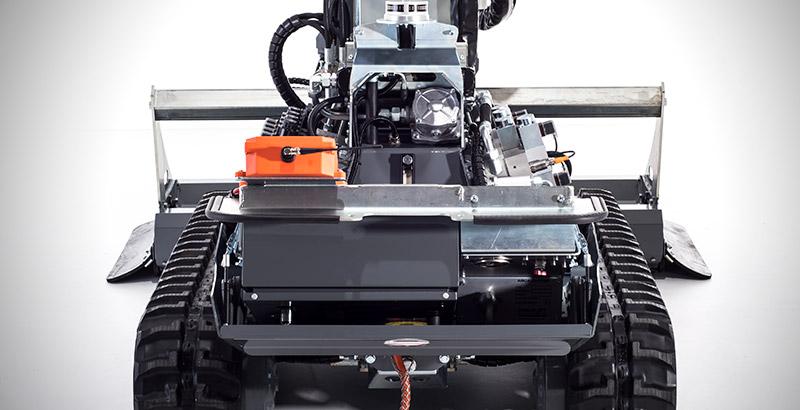 Aqua cutter 410 hydrodemolition robot service