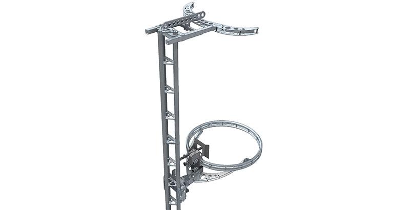 Aqua Spine Hydrodemolition Multi-Modular Support Rail Pillars