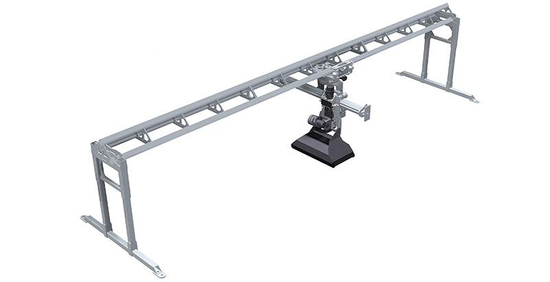 Aqua Spine Hydrodemolition Multi-Modular Support Rail