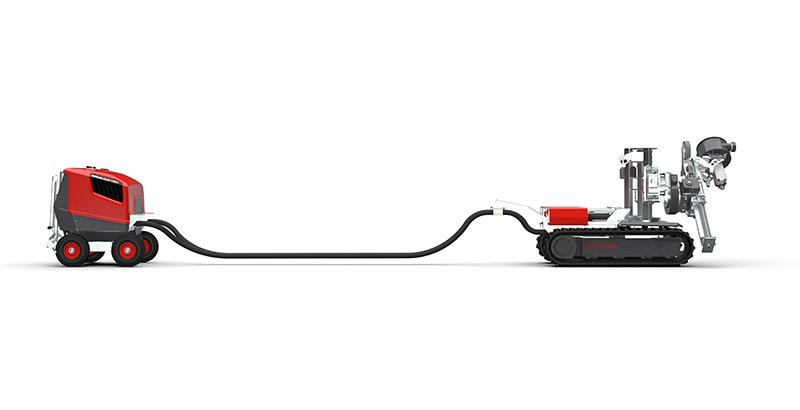 Aqua Cutter 410V Tunnel kit disconnectable PCM