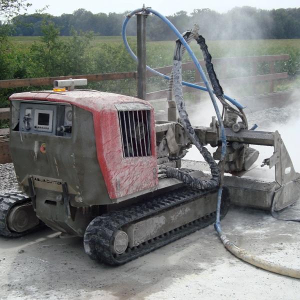 Aqua Cutter 710H Hydrodemolition Robot concrete repair