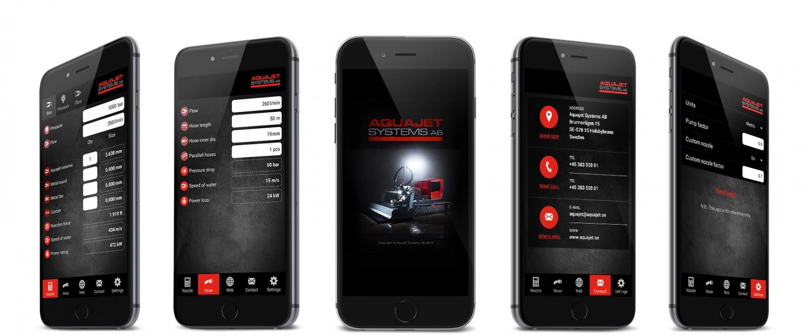 Aquajet Hydrodemolition App