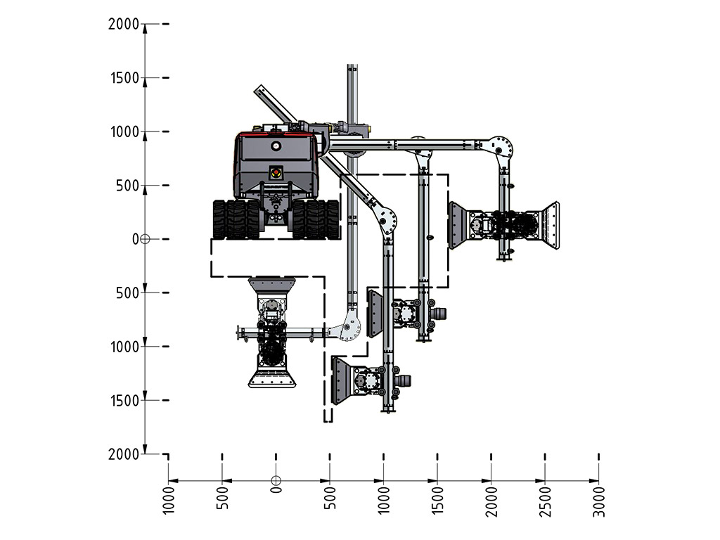 Extension Kit LT Hydrodemoliton Robot Accessory specification