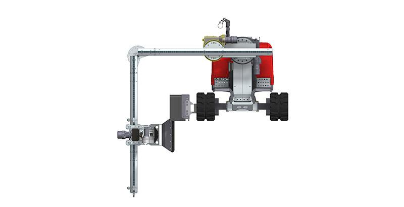 Extension Kit LT Hydrodemoliton Robot Accessory