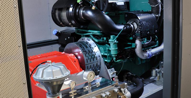 Accordion Power packs - Standard engine side