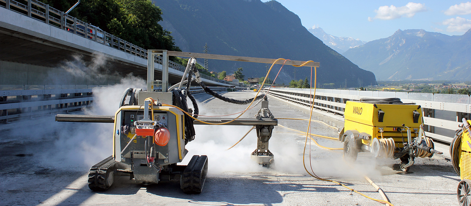 Jobreport Walo - Aqua cutter 710V