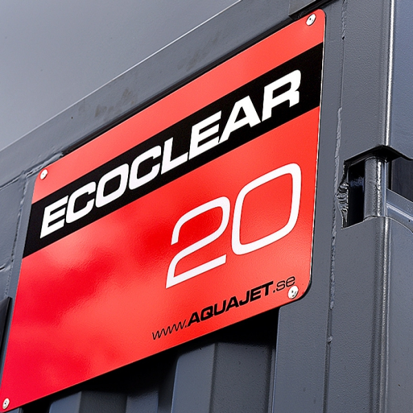 EcoClear on display at Hydrodemolition days