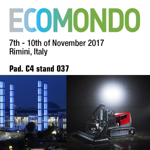 Aquajet systems ecomondo fair