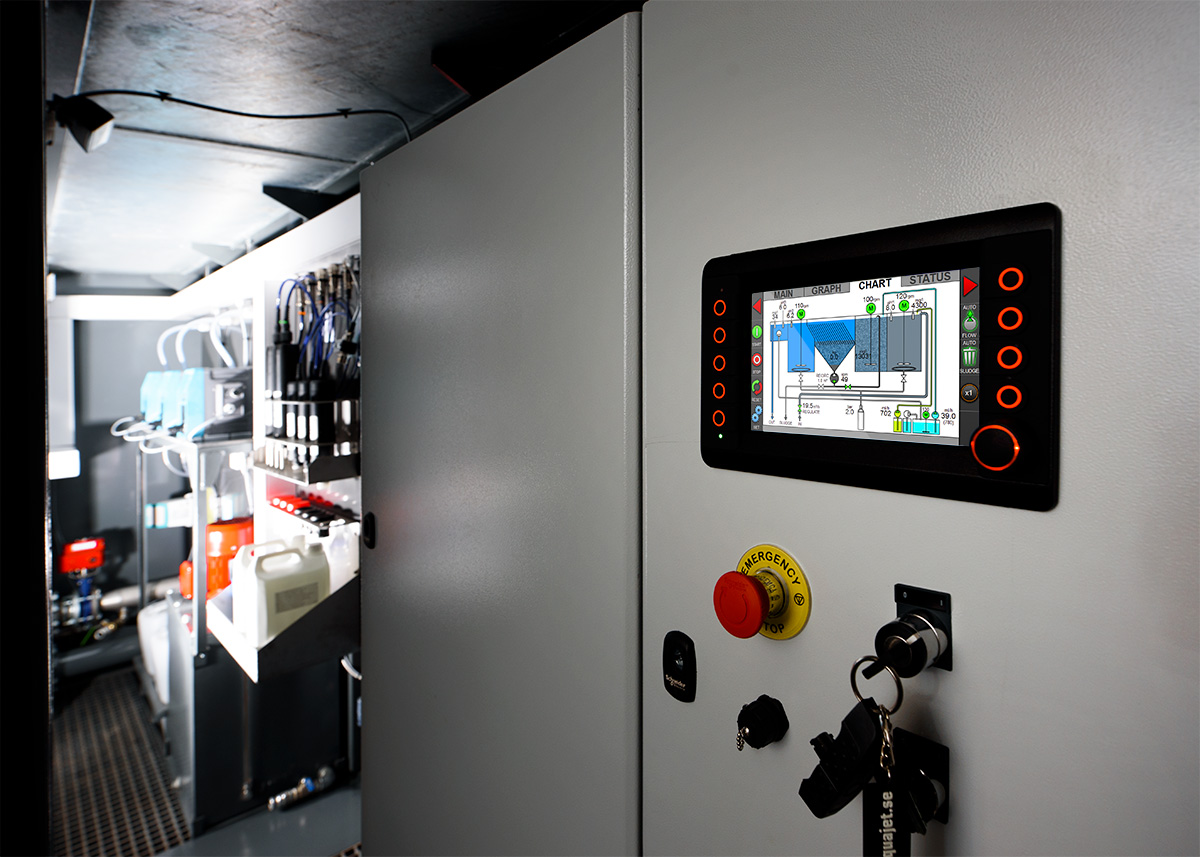 Ecoclear Reco control system