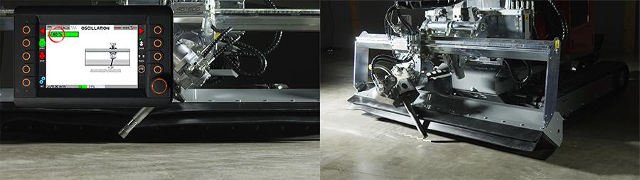 hydrodemolition aquajet systems oscillation smart lance aqua cutter