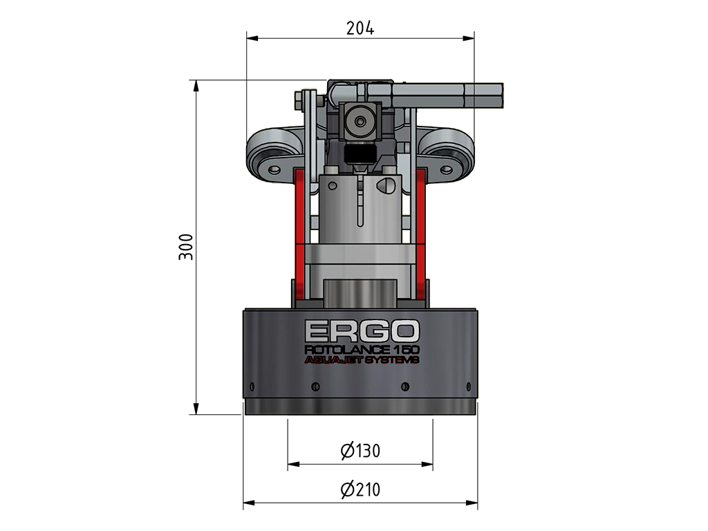 ergo rotolance 130 specifications