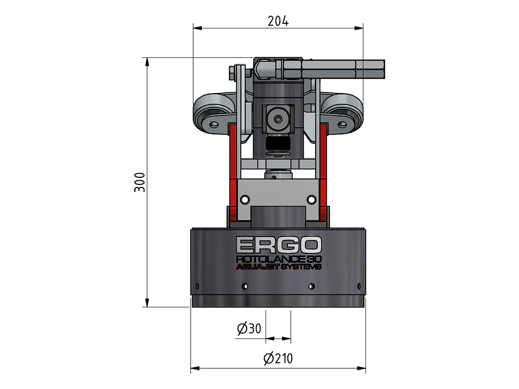 ergo rotolance 30 specifications