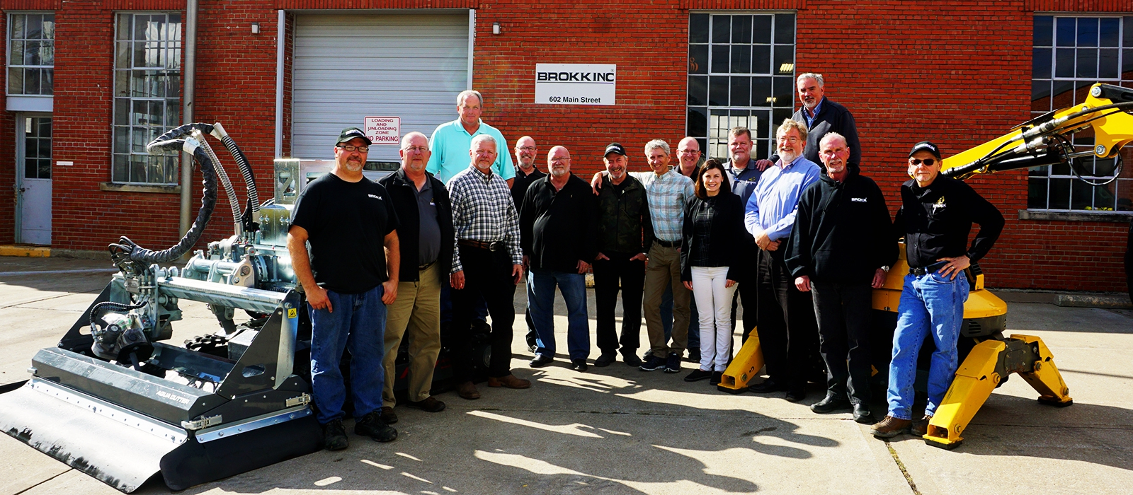 aquajet systems brokk inc hydrodemolition aqua cutter new facility