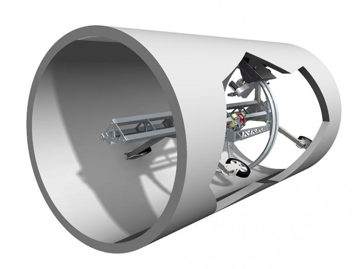 aqua centralizer aquajet systems hydrodemolition hydroblasting new product