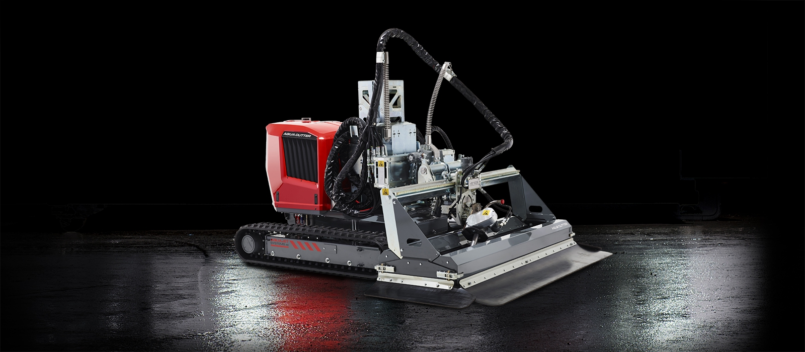 aqua cutter 710ve electric hydrodemolition aquajet industrial cleaning