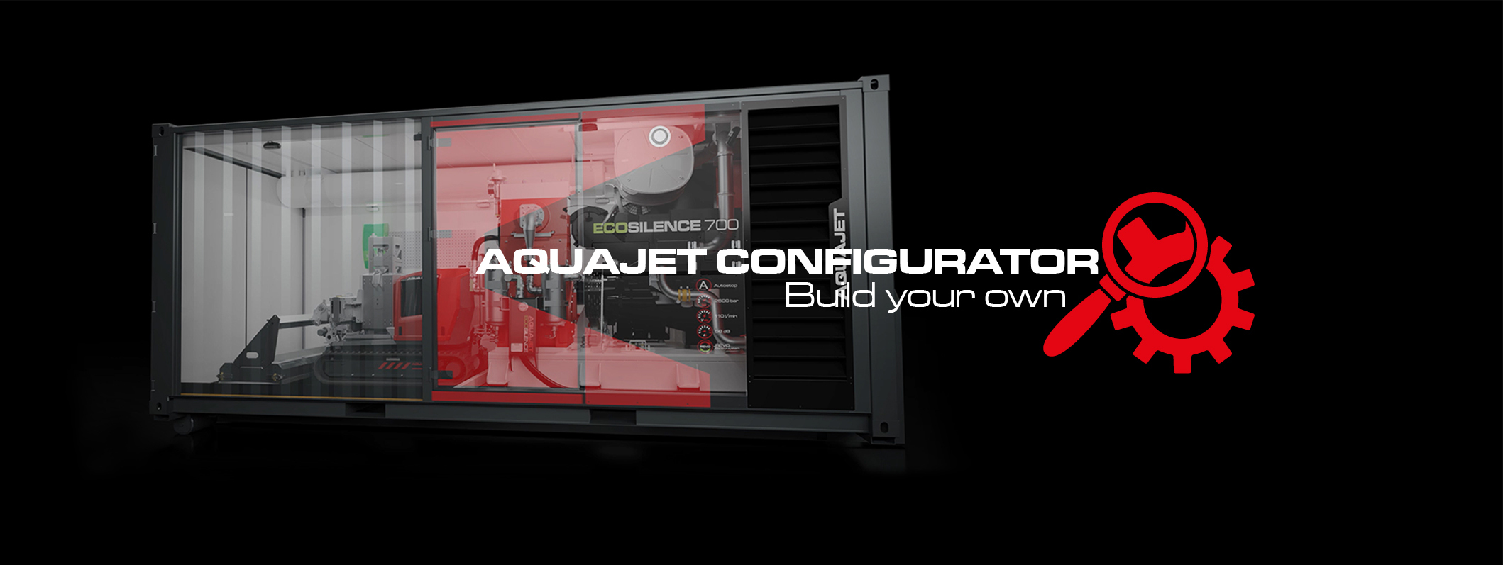 configurator aquajet build your own hydrodemolition ecosilence 3.0 equipment