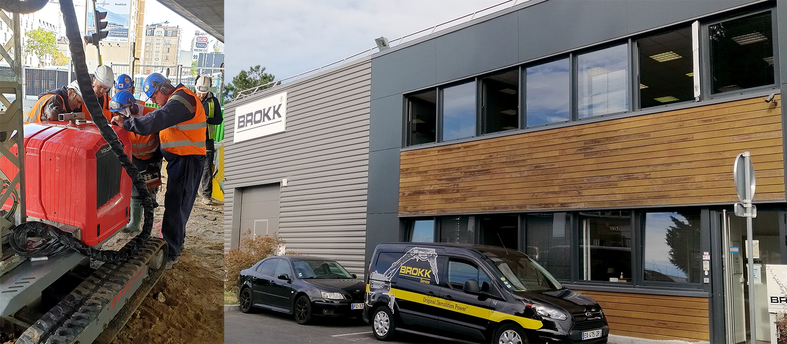brokk france aquajet dealer distributor