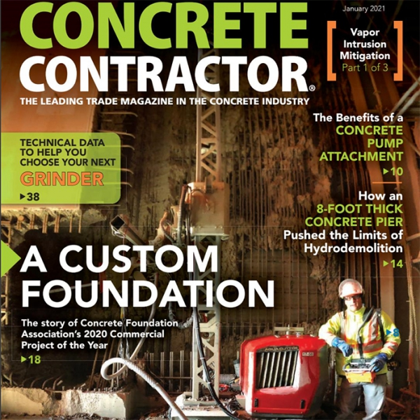 concrete contractor magazine aquajet hydrodemolition aqua cutter ecoclear on location canada 700